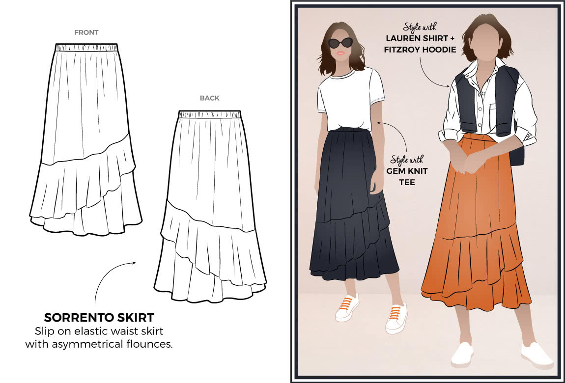 Sorrento Skirt