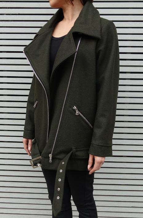 Carly Aviator Jacket by Style Arc