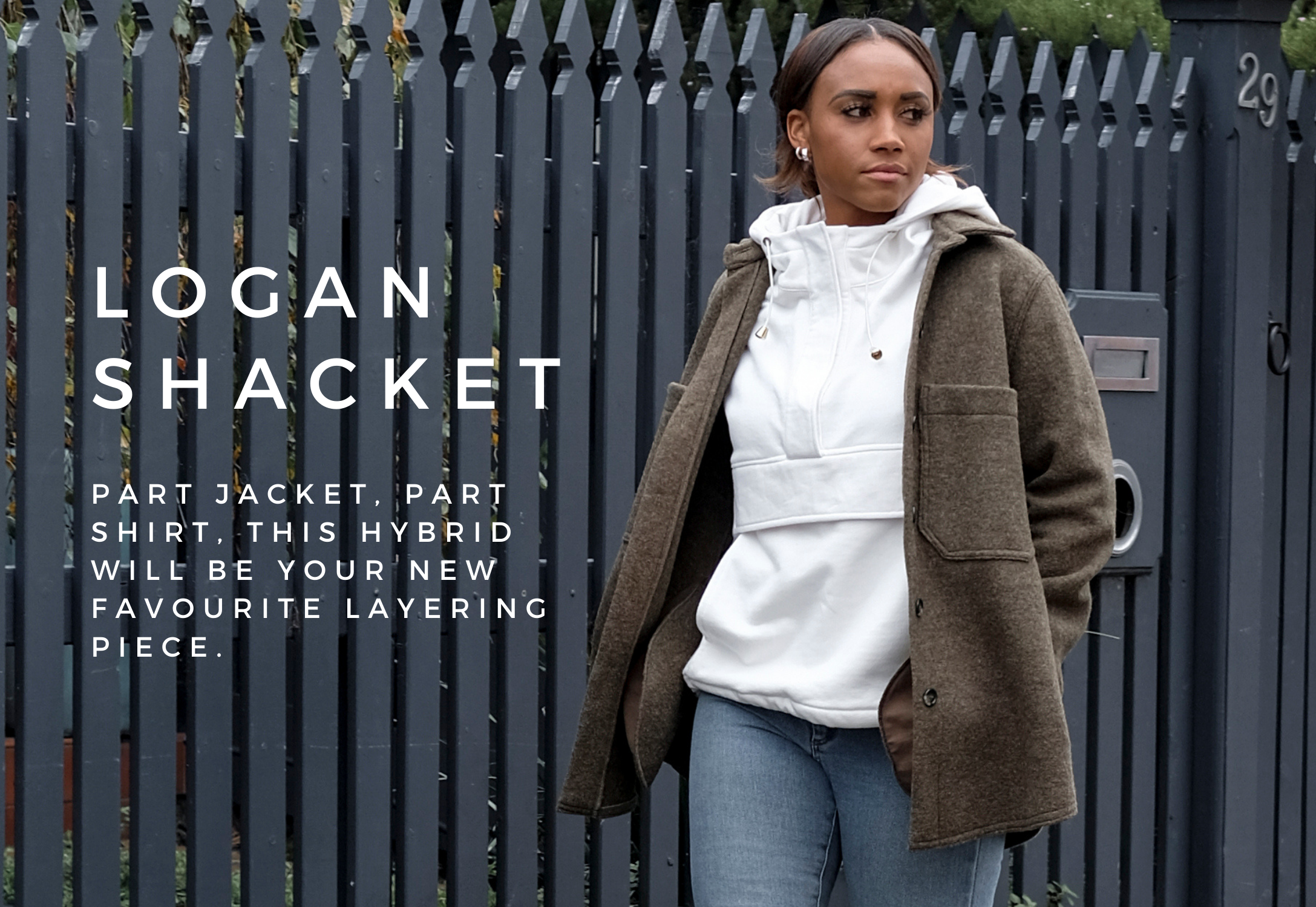 Logan Shacket- the hybrid of your favourite layering pieces