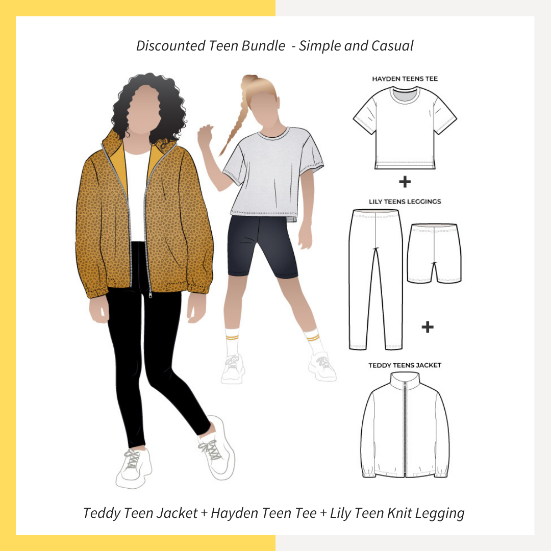 Simple and Casual Teen Discounted Bundle