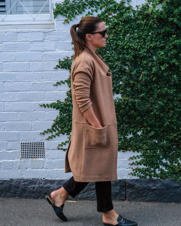 Parker Coat by Style Arc