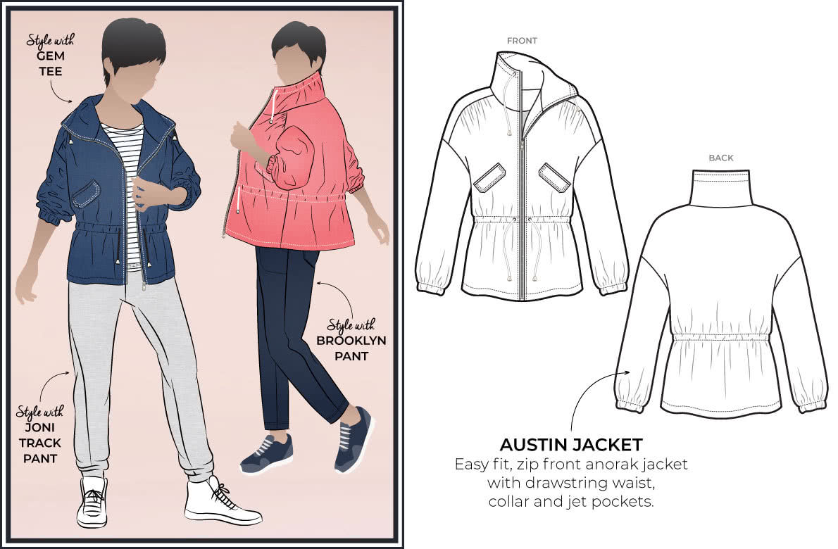 May 2020 - Style Arc's Latest release - Austin Jacket