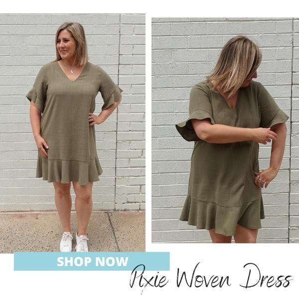 Pixie Woven Dress- Shop Now