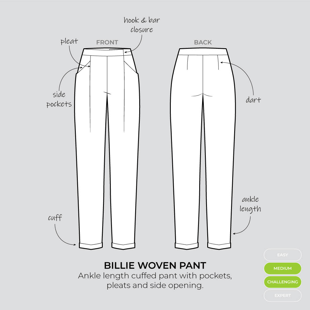The Billie Woven Pant