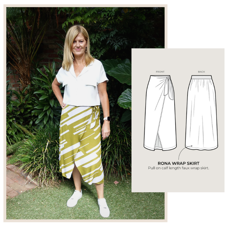 Rona Wrap Skirt