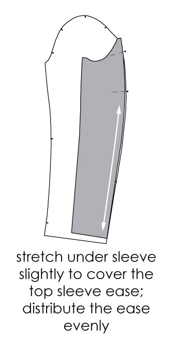 How to Sew a Two Piece Sleeve - Step 1