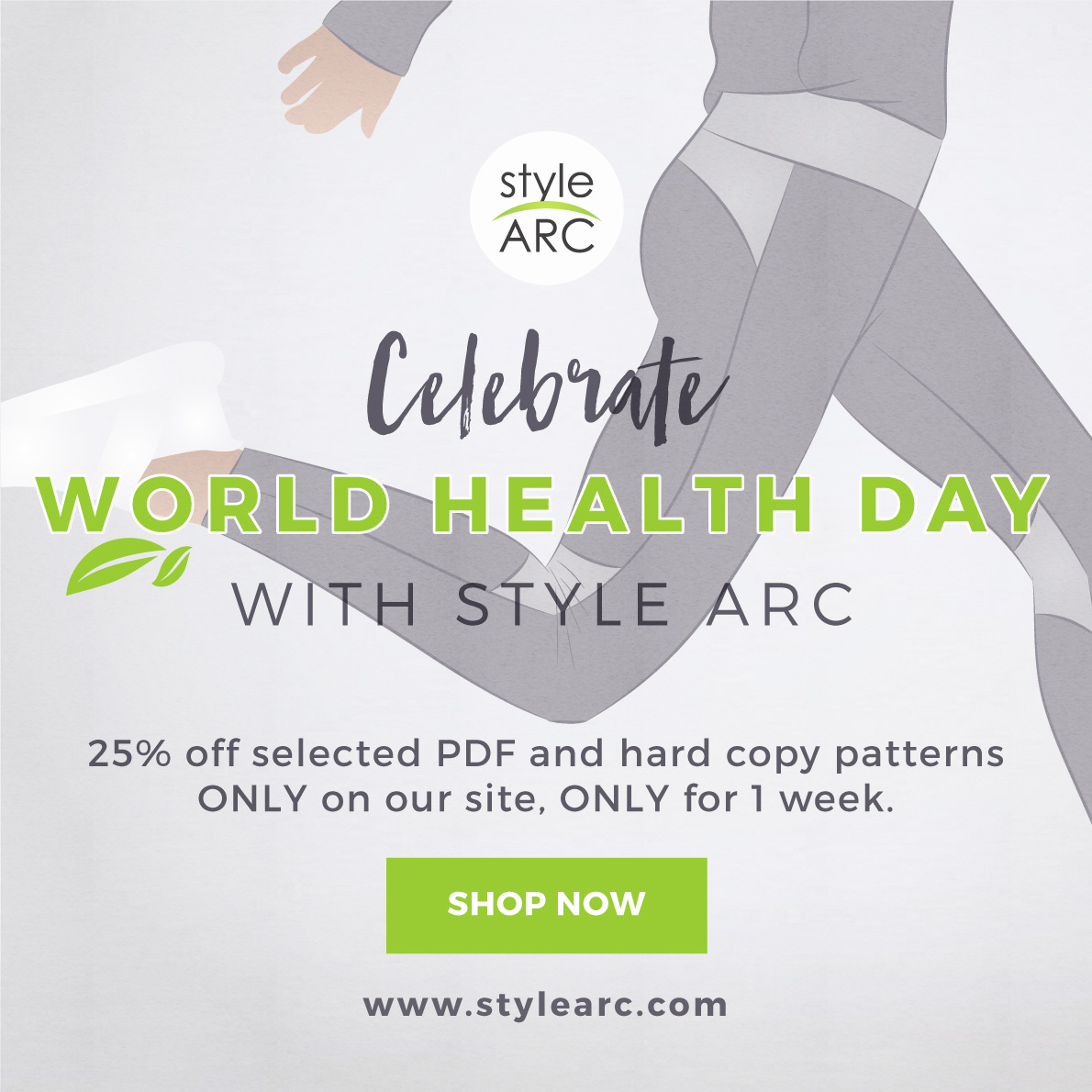 25% off for World Health Day