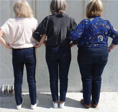 Blakley Stretch Jean Fabric + Pattern Bundle by Style Arc