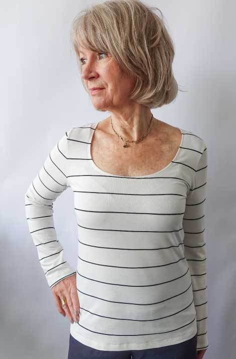 Susan Top Sewing Pattern by Style Arc