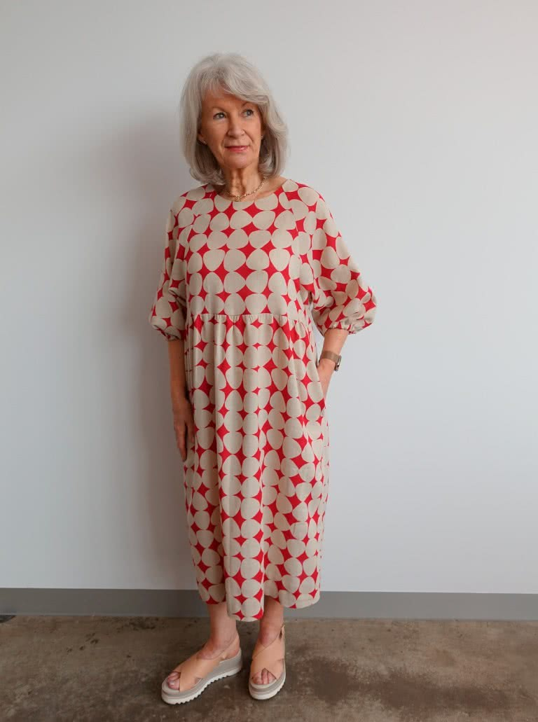 Style Arc's new pattern release - Hope Woven Dress