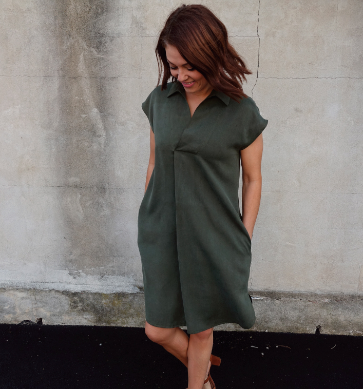 Autumn Dress Sewing Pattern by Style Arc