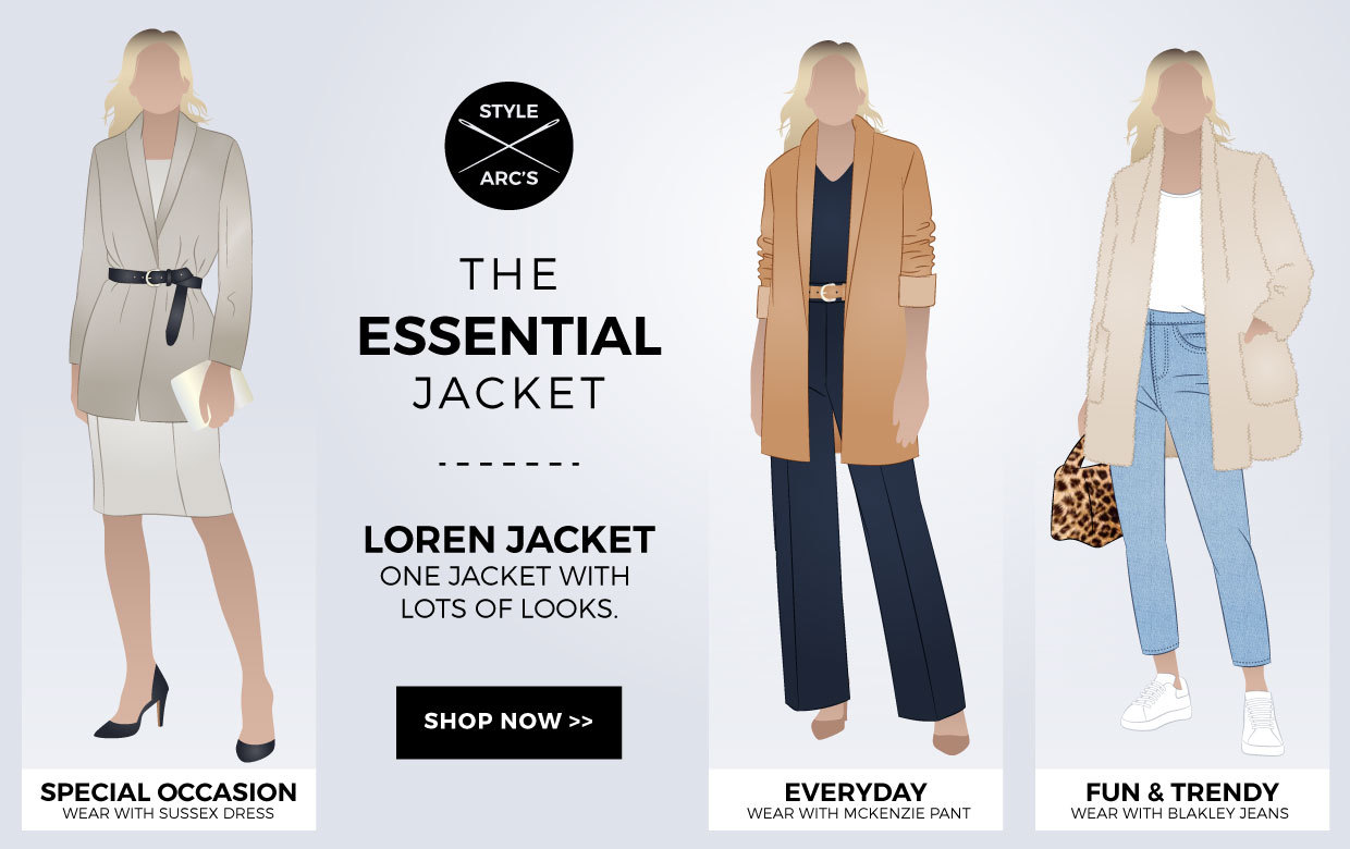 The Essential Jacket - Loren Jacket