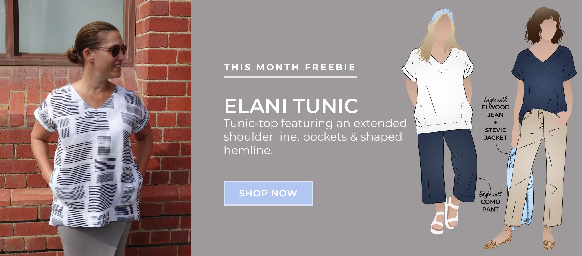 Elani Tunic March 2020 freebie