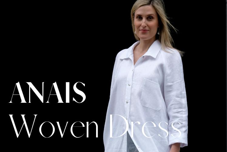 Anais Woven Dress