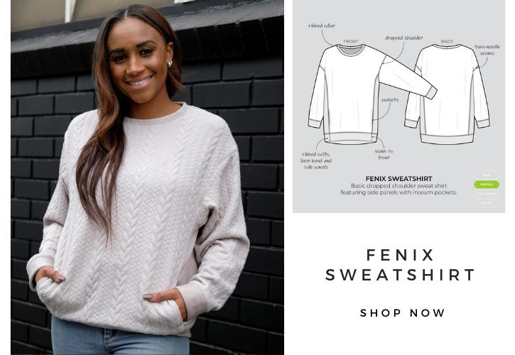 Fenix Sweatshirt- May bonus pattern