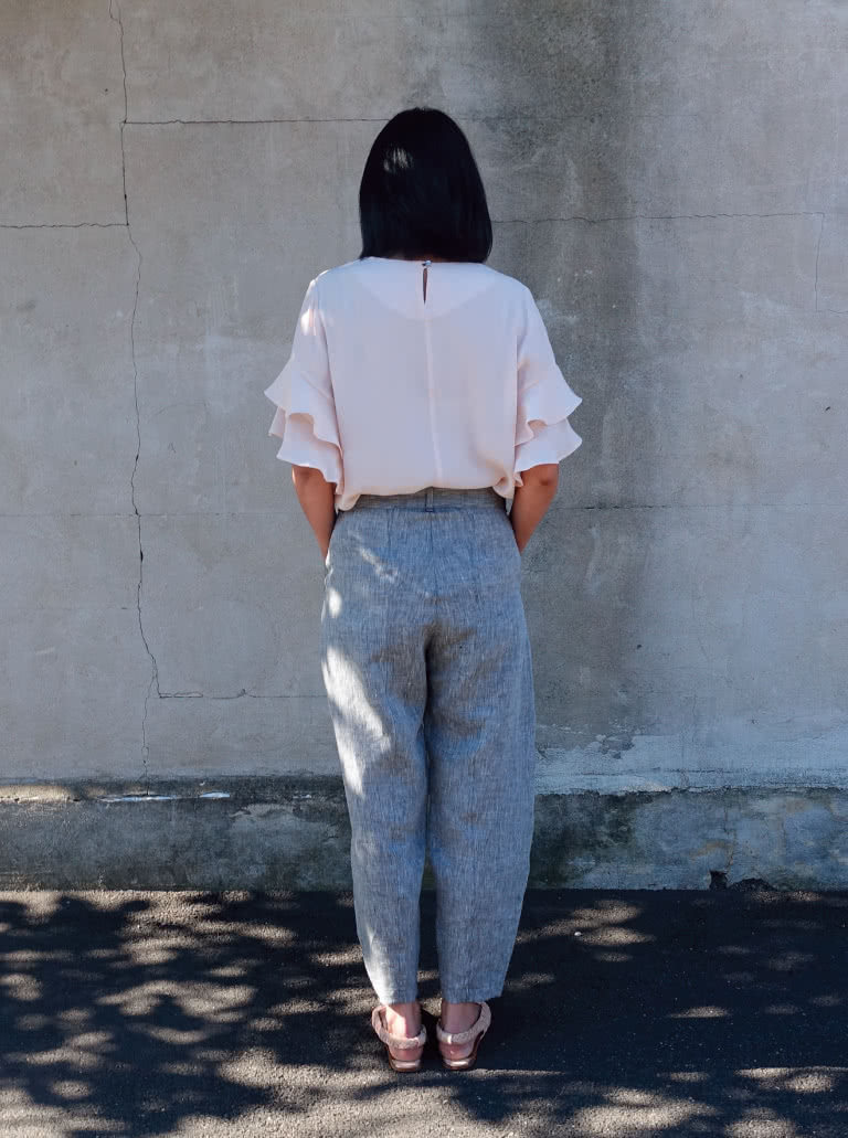 New release - Kew Woven Pant - Style Arc's coolest pant pattern release