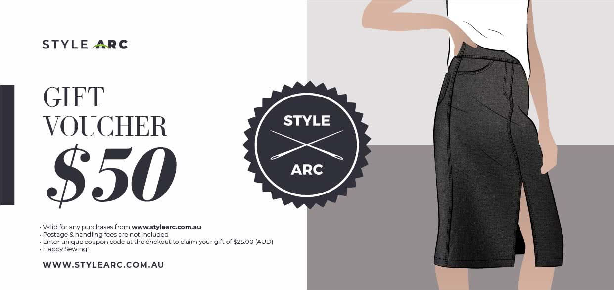 50 AUD Gift Card By Style Arc - Gift Card for the value of $50(AUD)