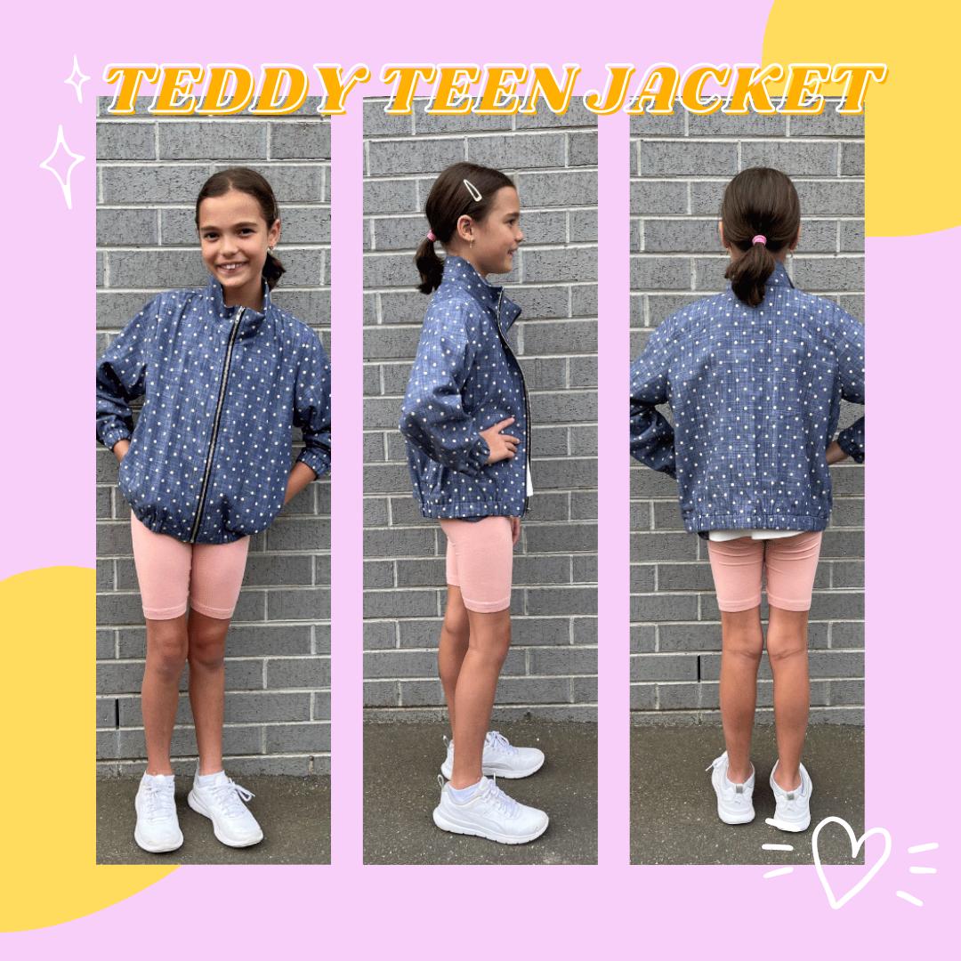 TEDDY TEENS JACKET