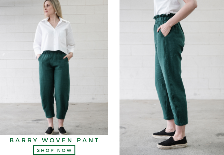 Barry Woven Pant