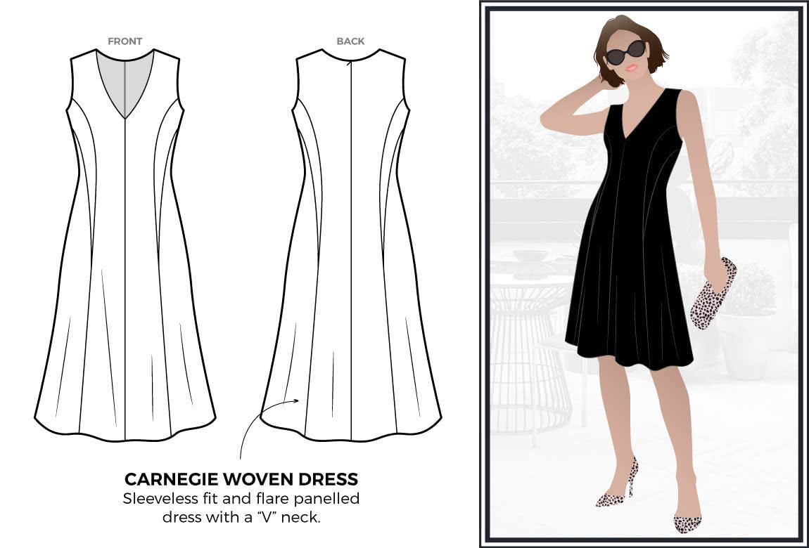 Carnegie Woven Dress