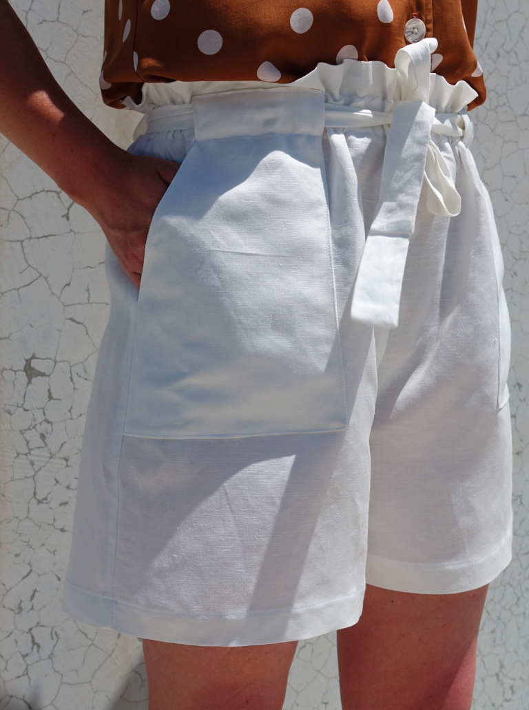 Ellen Woven Short Sewing Pattern by Style Arc