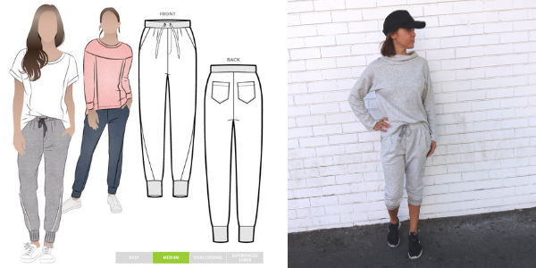 November 2020 Freebie- Joni Knit Track pant