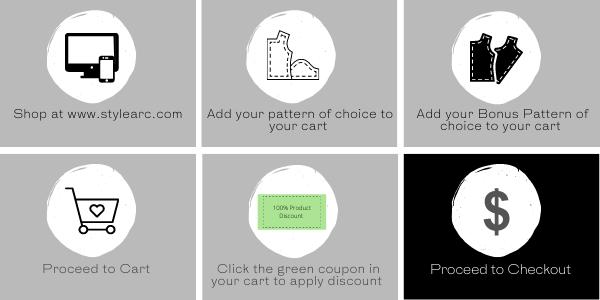 How to claim your bonus pattern