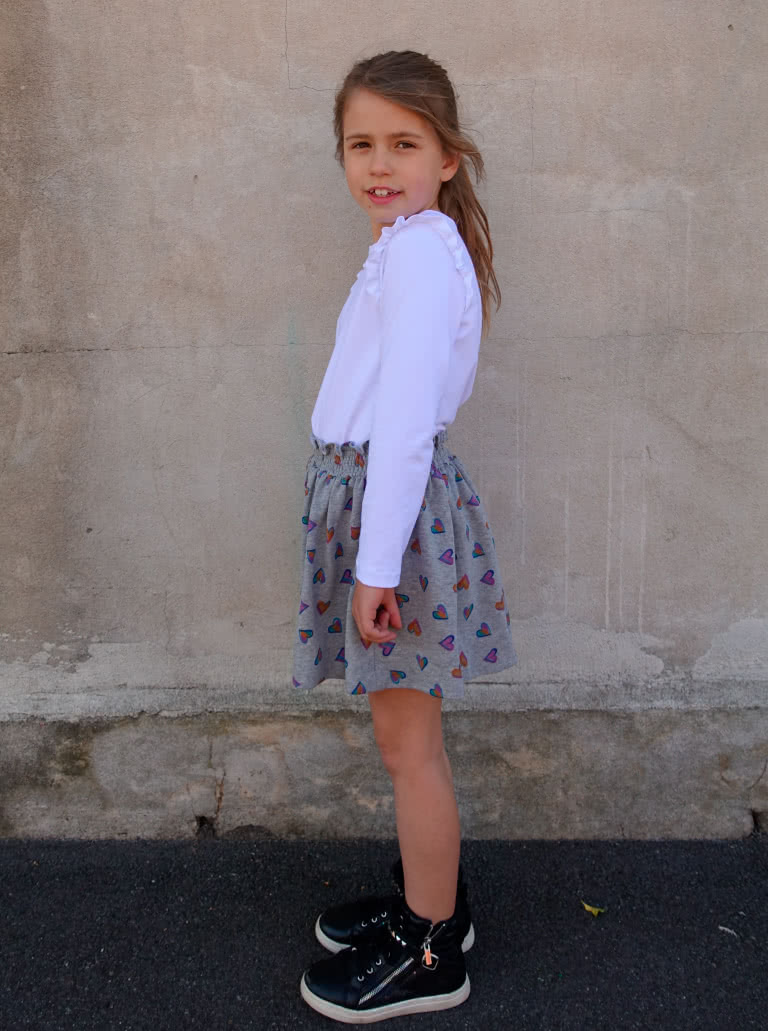 Ruth Kids Skirt - Available in sizes 1-8