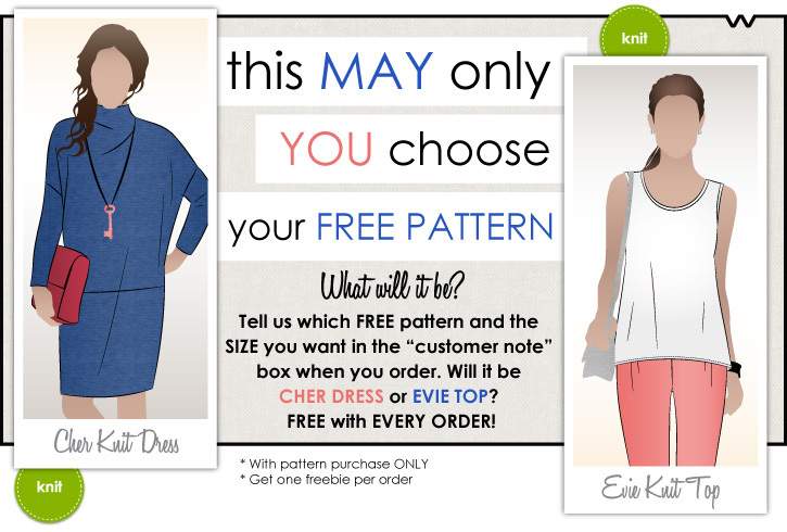 Style Arc sewing patterns