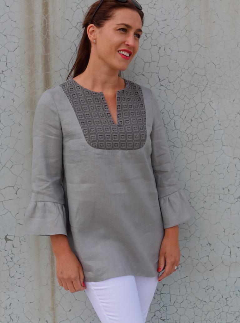 Culliver Woven Tunic
