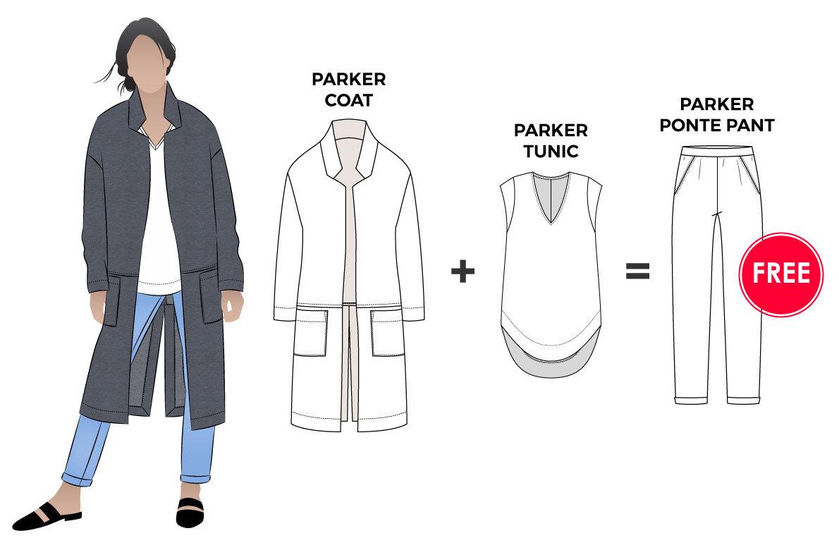 Parker Outfit Bundle by Style Arc