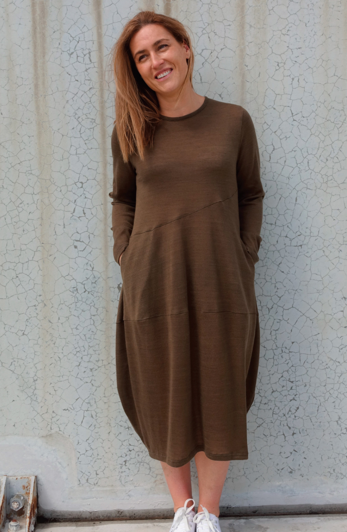 Venice Knit Dress by Style Arc