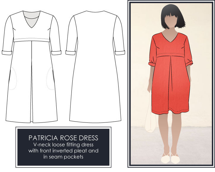 Patricia Rose Dress
