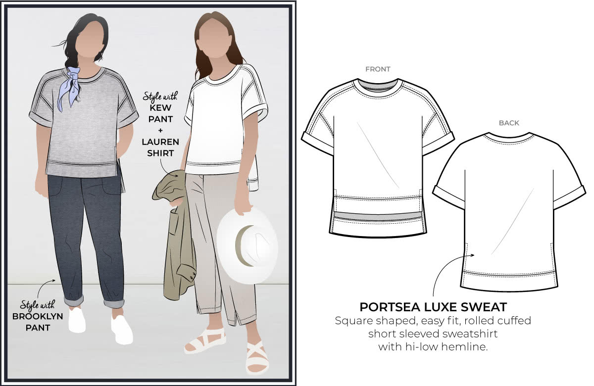 April 1st 2020 Freebie - Portsea Luxe Sweat