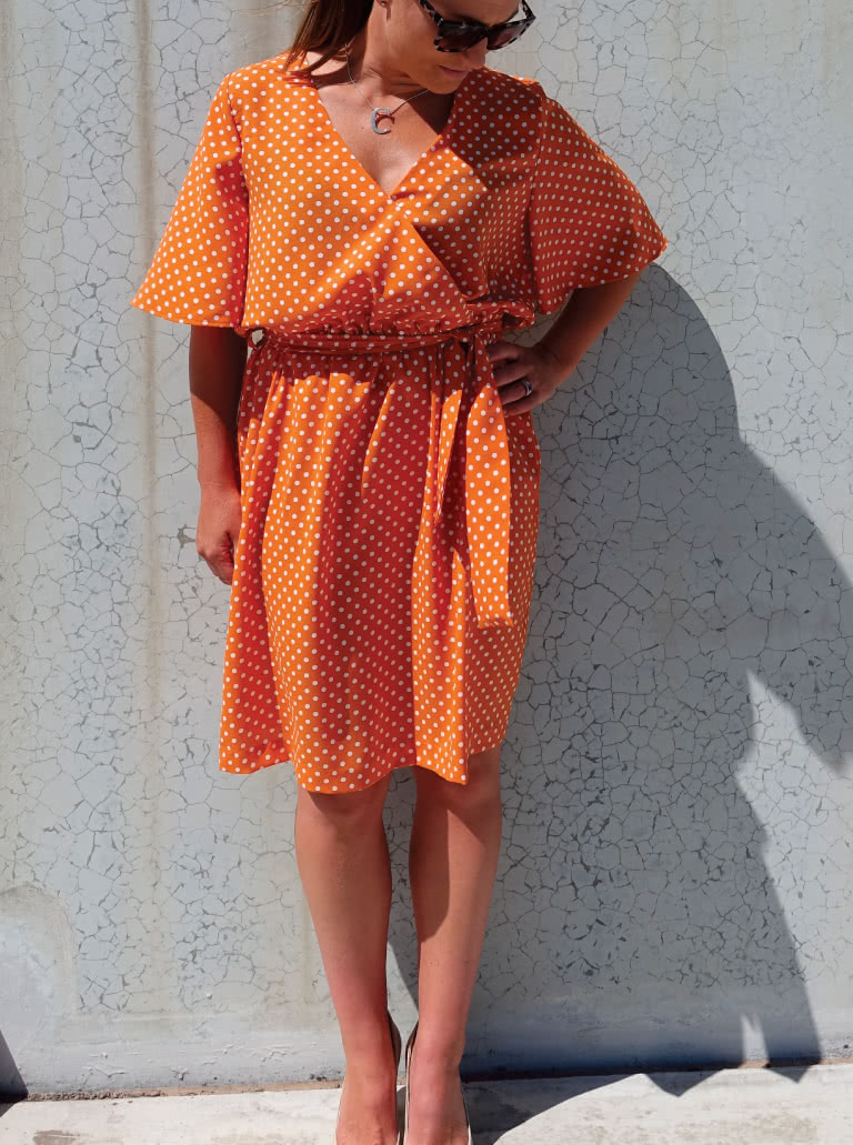 Bonita Dress / Top Sewing Pattern by Style Arc