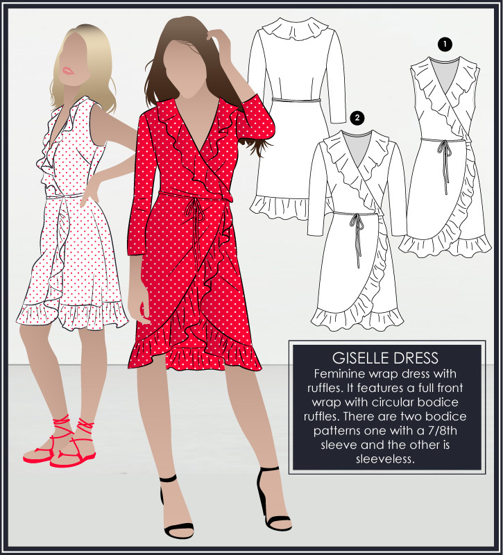 Giselle Dress by Style Arc Sewing Patterns