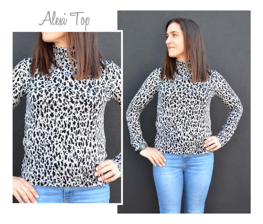 Alexi Top Sewing Pattern By Style Arc