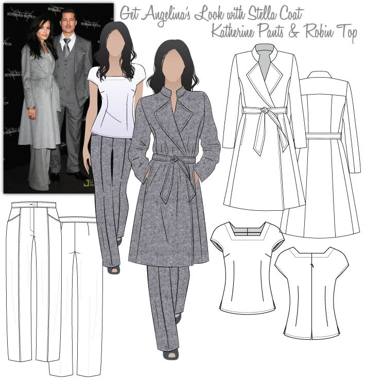 Angelina's Suited Look Sewing Pattern Bundle By Style Arc
