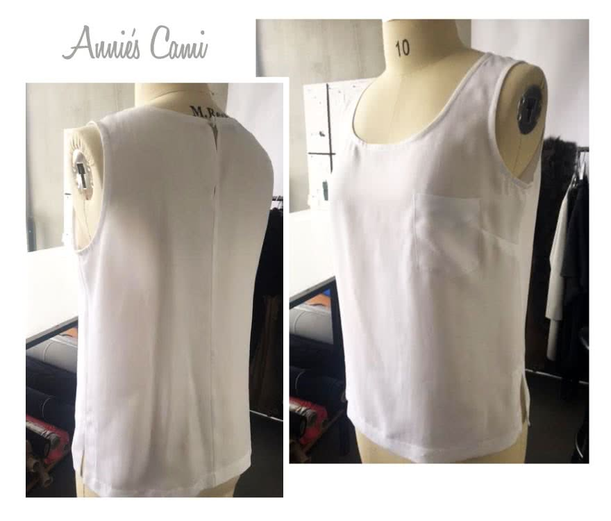 Annie's Cami Sewing Pattern By Style Arc - Versatile woven camisole