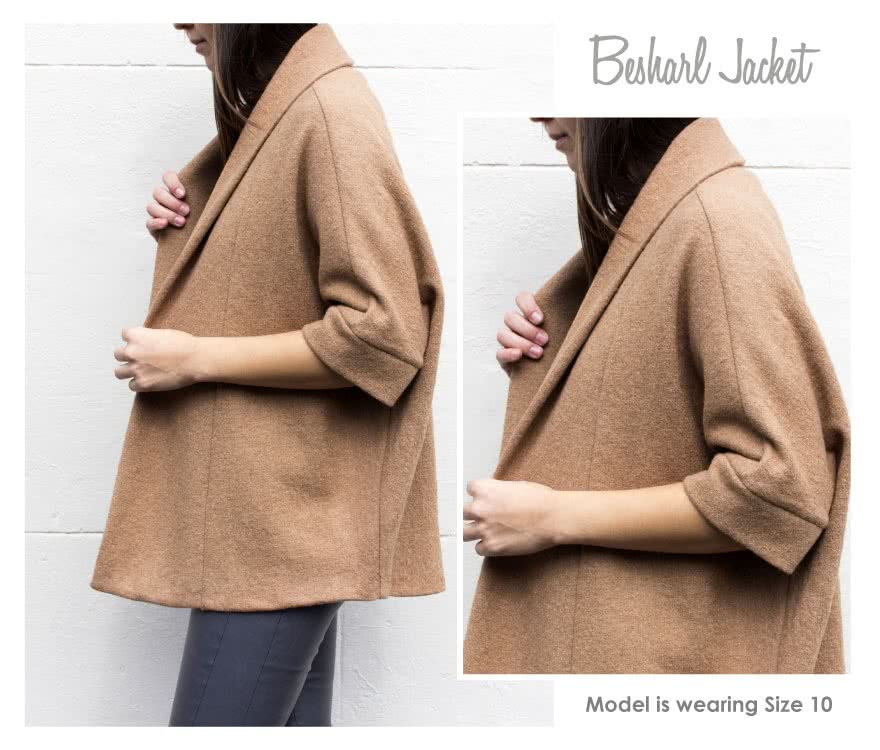 Besharl Jacket Sewing Pattern By Style Arc