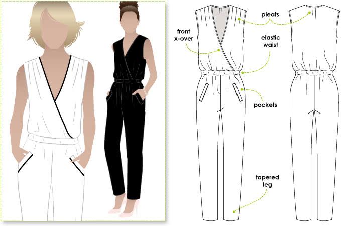 Carly Jumpsuit – Style Arc