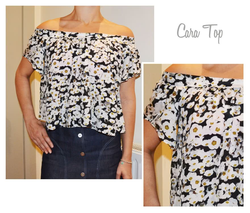 Cara Top Sewing Pattern By Style Arc