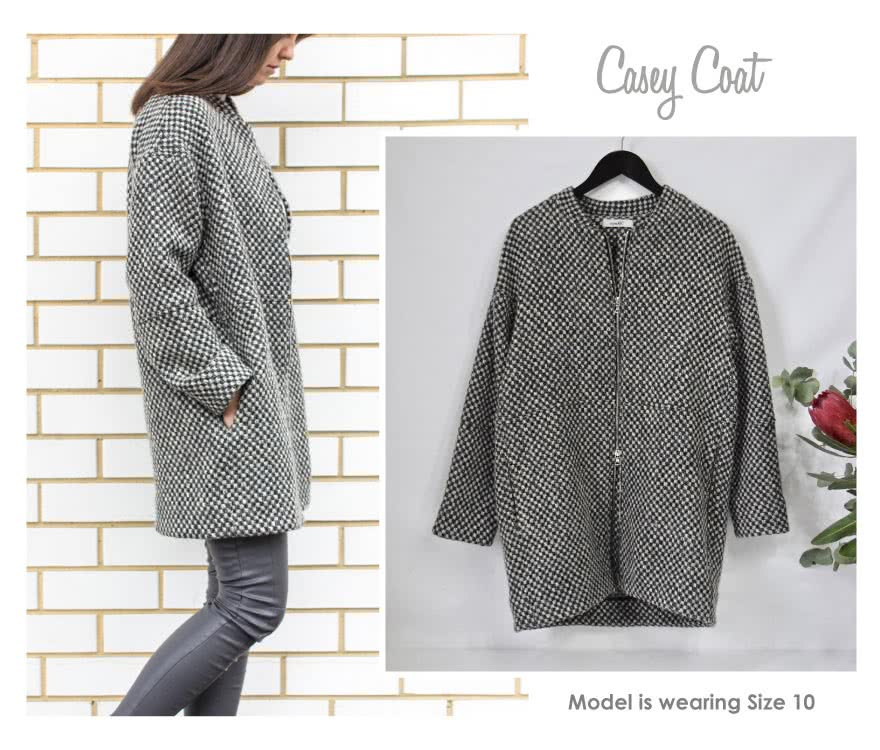 Casey Coat Sewing Pattern By Style Arc