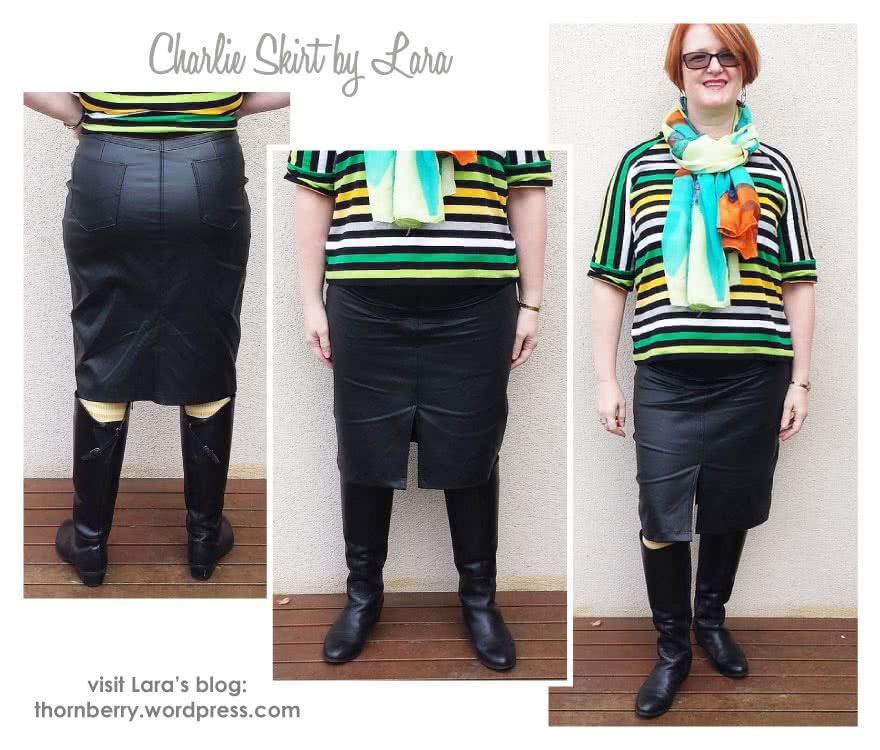 Charlie Stretch Woven Skirt Sewing Pattern By Lara And Style Arc