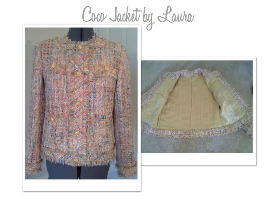 Gigi Jacket Sewing Pattern By Laura And Style Arc - Classically styled fully-lined semi fitted jacket