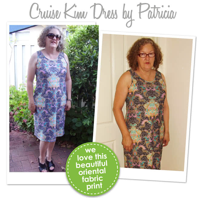 Cruise Club Kim Dress Sewing Pattern By Patricia And Style Arc - Fabulouse all occasion dress