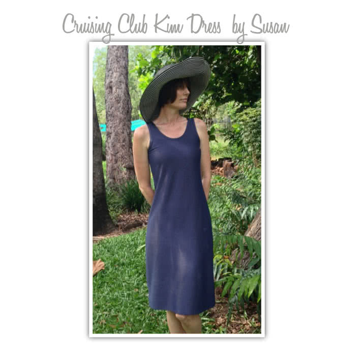 Cruise Club Kim Dress Sewing Pattern By Susan And Style Arc