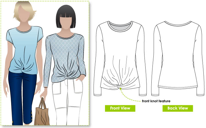 Dee Knit Top Style Arc