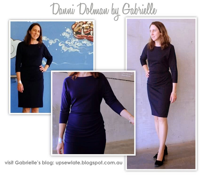 Danni Dolman Sewing Pattern By Gabrielle And Style Arc