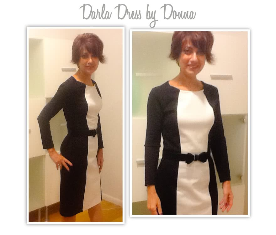 Darla Stretch Woven Dress Sewing Pattern By Donna And Style Arc - A dress that you can use you creative skills to make it your own.